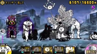 大狂乱の巨神降臨 ネコハザード 極ムズ3