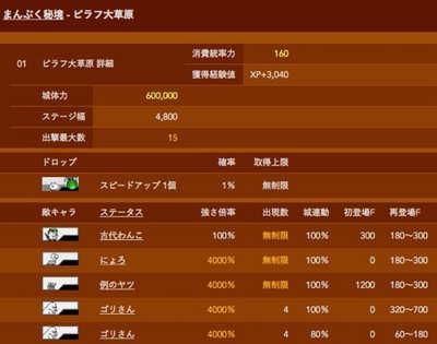 まんぷく秘境1 ピラフ大草原 星1
